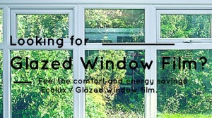 looking for glazed window film